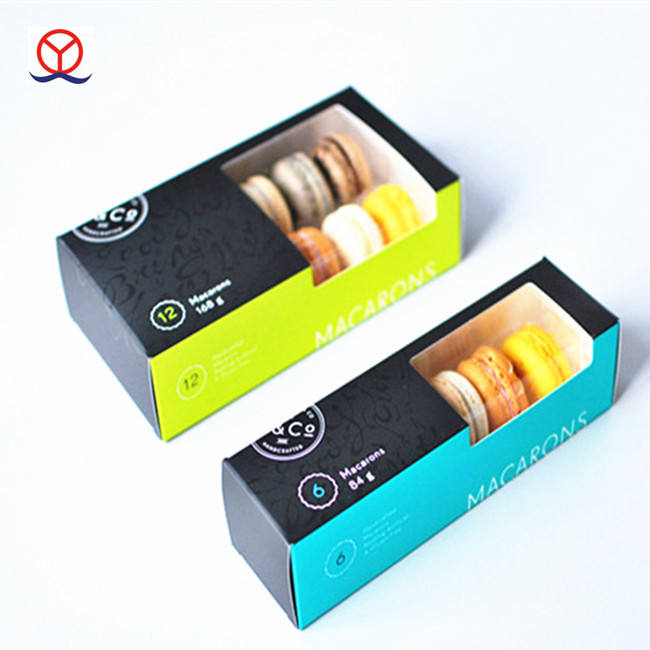 wholesale biscuit cookie packaging box ,Custom paper biodegradable food packaging