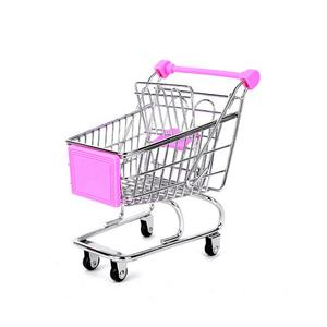 Ruilang supermarket small metal mini children's play toy mini shopping cart
