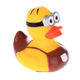3d minion vinyl bath ducks custom cartoon character floating rubber duck toys