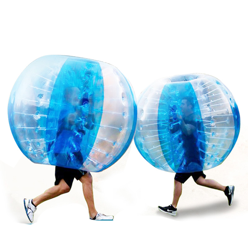 Giant inflatable water cheap outdoor soccer toy bubble ball plastic bumper ball