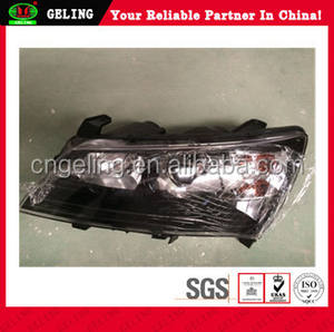 Front Lamp WIth Black Color For Geely Emgrand EC7