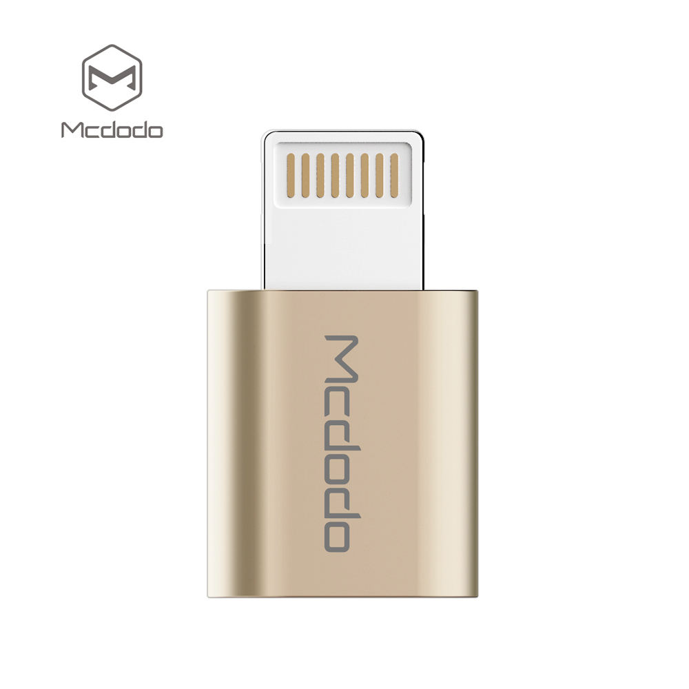 Scratch resistant and durable mini size 8 pin to micro usb AF adapter micro usb to 8 pin converter