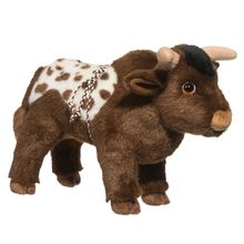 cheap wholesale plush toy bull