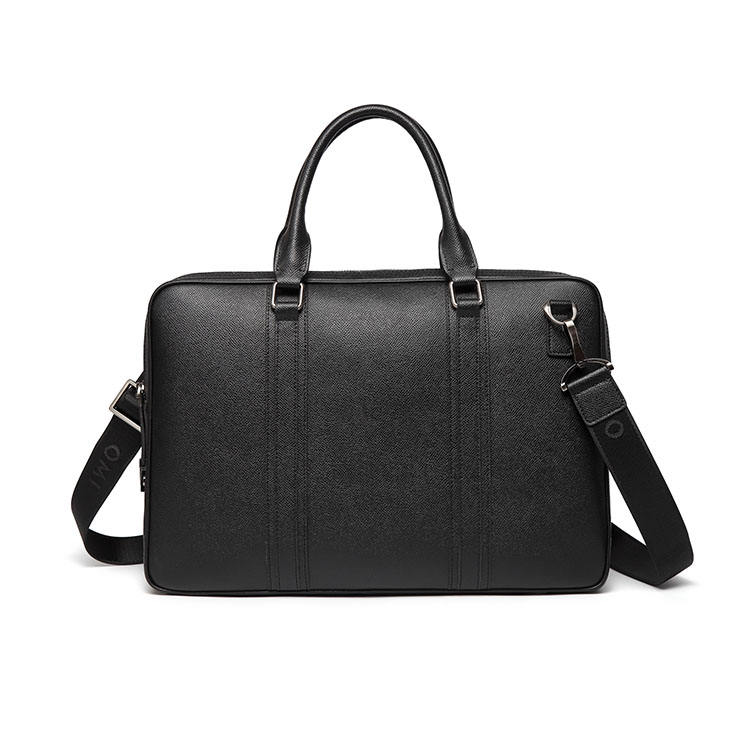 High quality genuine leather business laptop bag lady hard leather briefcase for wholesale
