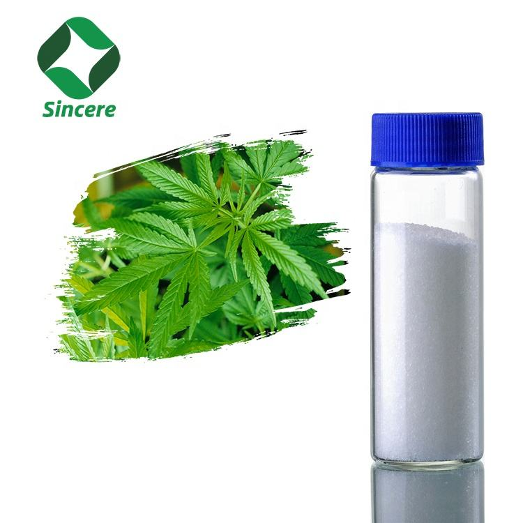 SINCERE Supply Large Stock USA Warehouse Water soluble CBD Isolate powder for Food and Drinks