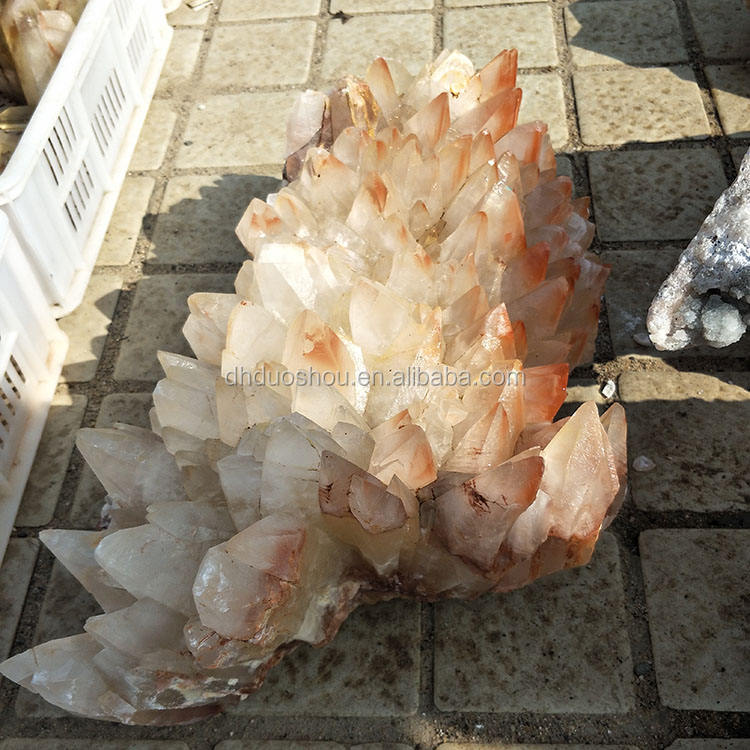 huge rough raw natural rock stone mineral quartz crystal cluster