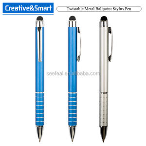 Office & School Supplies Touch Ballpoint For Universal Screen Slim Metal Twist Ballpoint Pen Free Promotional Stylus Pen