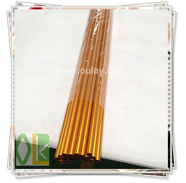 goldenen aluminium pfeilschäfte für Bogenschießen pfeile