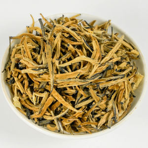 ZSL-BF-001M Guangxi Jasmine Fine Selected Awarded Jasmine Scented Golden Needle Black Tea Loose