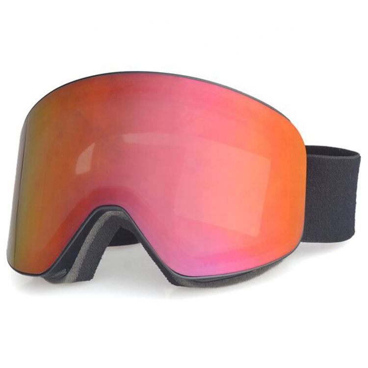 Wholesale custom frameless magnetic ski goggles