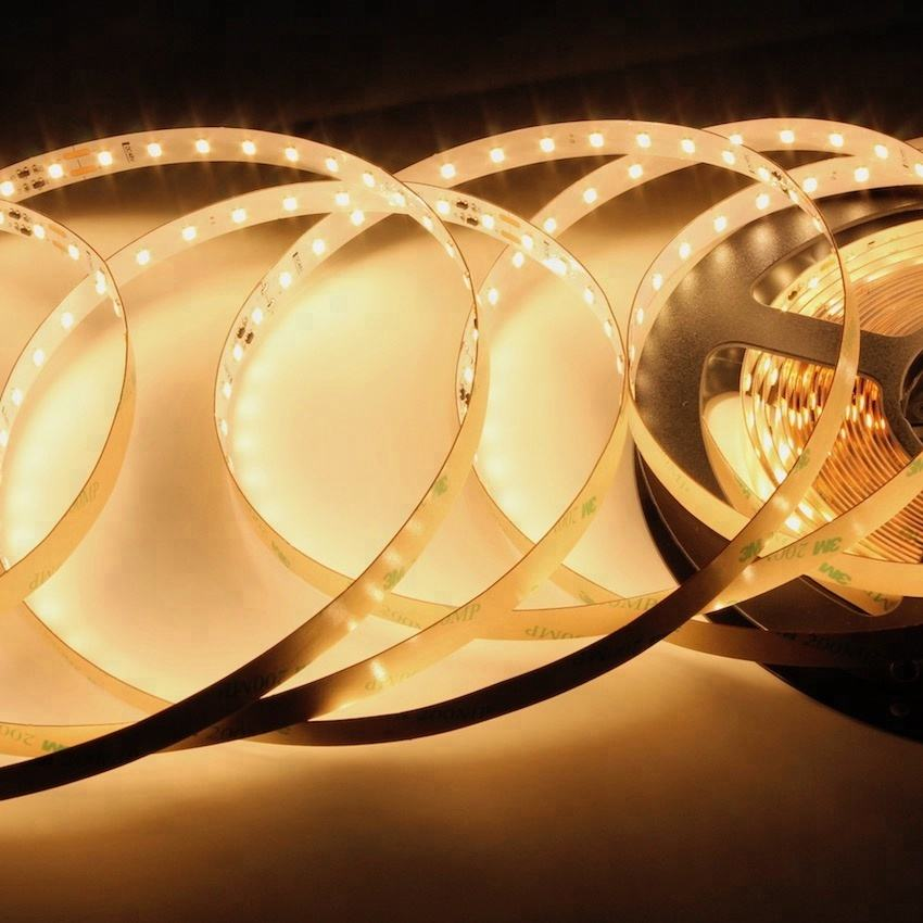 50Meter Super long LED Strip 2835; Input voltage: 48V; 78LEDs/Meter