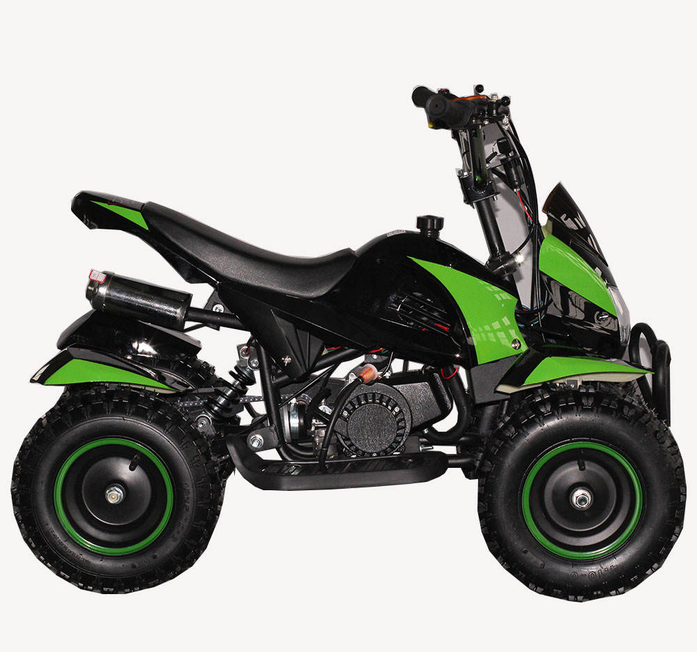 Gas Powered Four Wheeler Kids Mini 49cc ATV