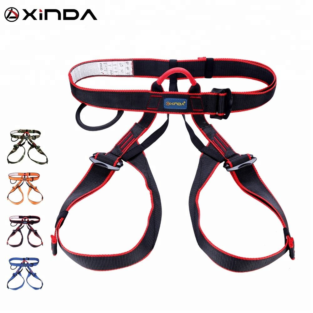 XINDA cheap wholesale half body climbing harness for working at height climbing fall protection
