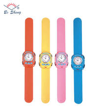 Fashion promotional cheap wholesale kids slap watches silicone children watch