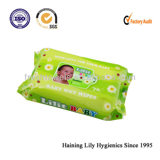 good quality disposable Baby cleansing wet wipes/towels/tissues Hygiene products