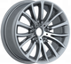 low pressure 18 inch wheels 5 holes silver aluminium alloy car rims
