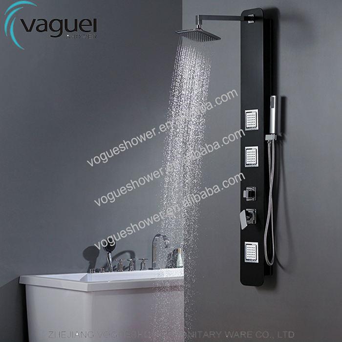 Baño sola manija CUPC, ACS, CE europeo grifo de la ducha PVC sembrador Panel