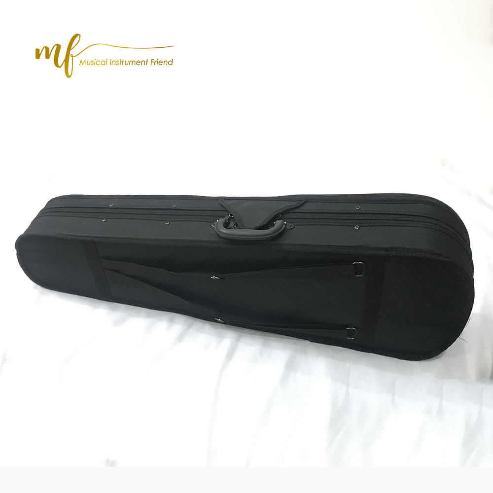 High Quality Violin Foam Bag Case Factory Price Black for Custom Waterproof Musical Instrument Bag