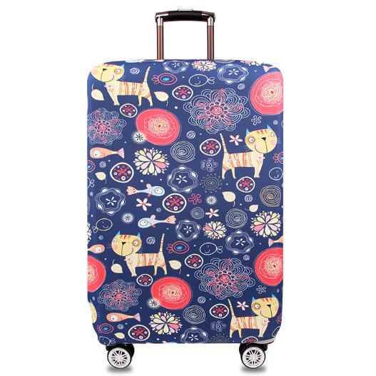ファッション高弾性スパンデックス保護荷物カバー丈夫な保護スパンデックス荷物カバーケース弾性スーツケースカバー