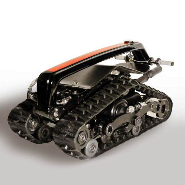 snow scooter rubber track, snowmobile/snowblower rubber crawler