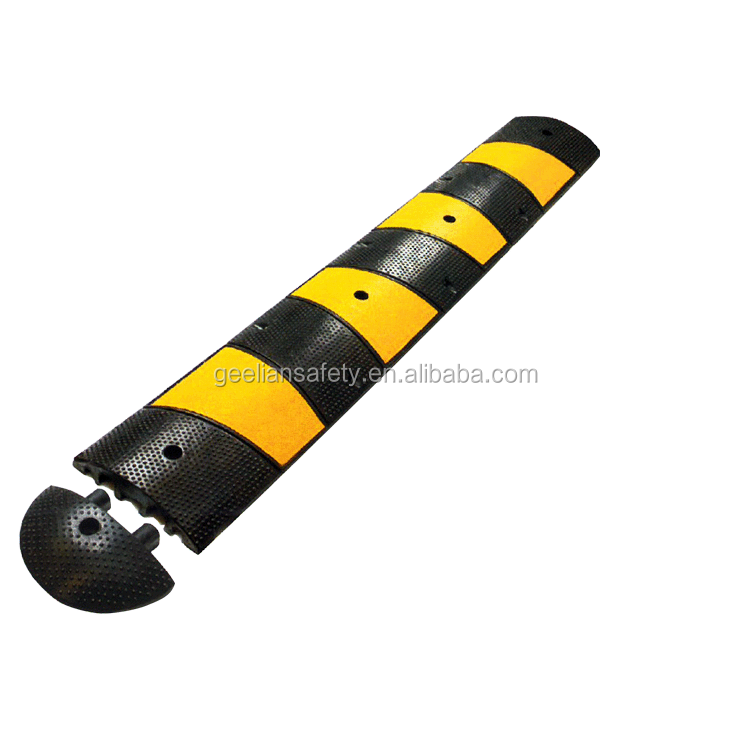 Mini rubber speed hump 1000*150*30mm,1000*100*20mm type, mini bike speed hump geelian