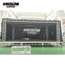 Hot Sale Wedding Decoration Aluminum Truss With Roof DJ Spigot Truss Event Stage Scene