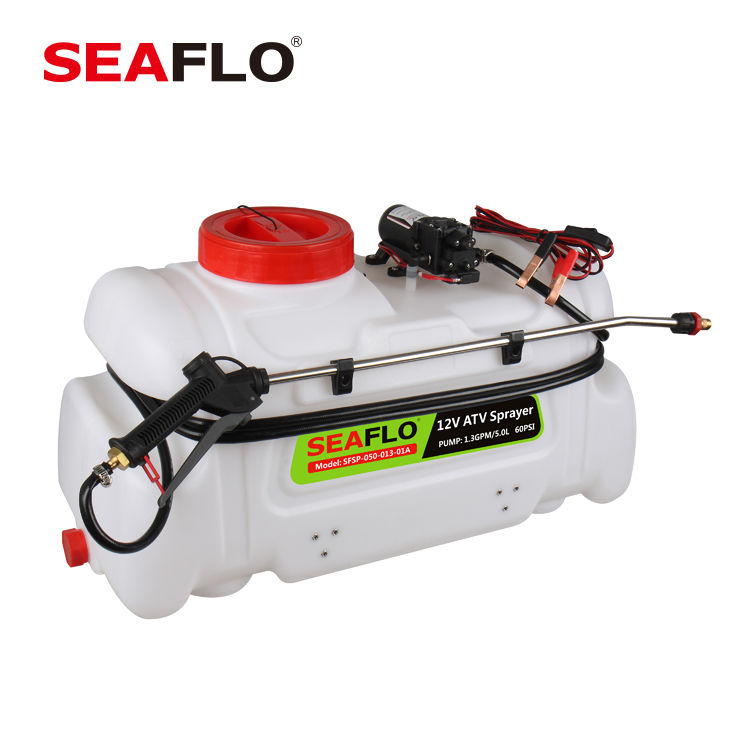 SEAFLO 12V 5LPM 100PSI ATV Portable Sprayers with Boom
