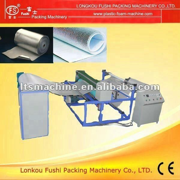 Pe Foam Lamination Machine PE Foam Sheet Laminating Machine With Aluminum Foil