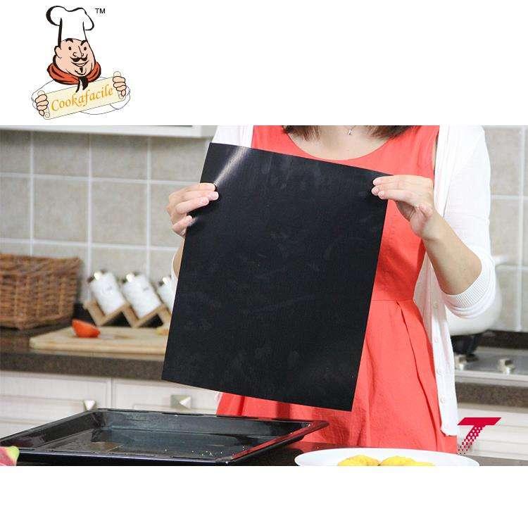 Vente chaude Large Application teflon tapis de cuisson/silicone tapis de cuisson