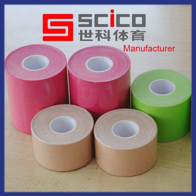 красочные спортивные водонепроницаемый безопасности печатных kinesio ленты