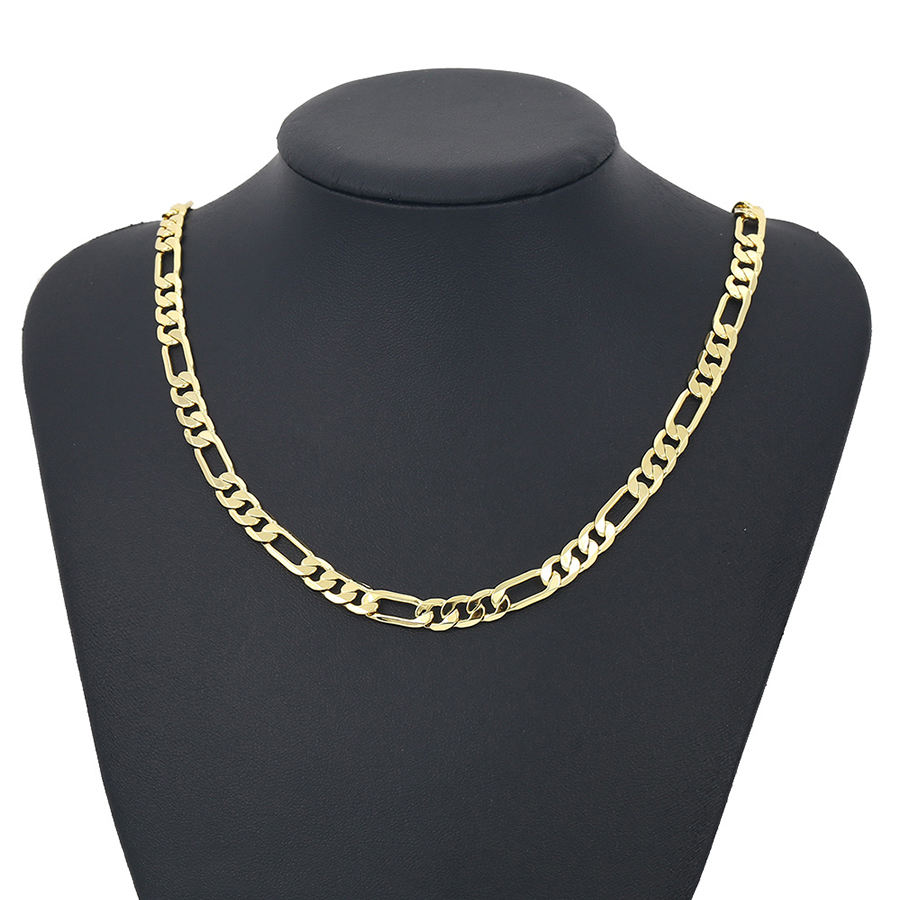 43195-xuping fashion chains jewelry 14k gold plated heavy men chains necklace, bijoux bijouterie