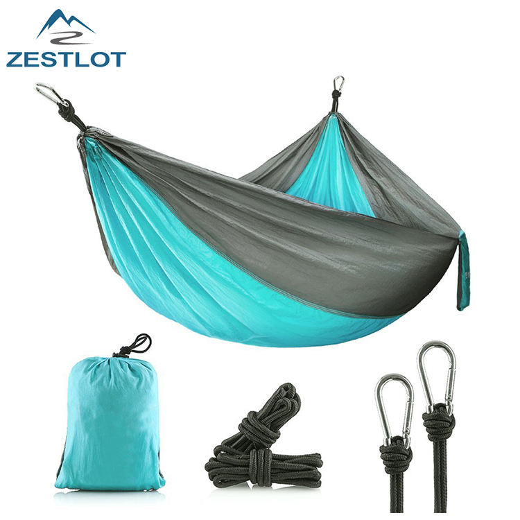 Hiking Travel Folding Beach Swings Sleep Rope Camping Hammock