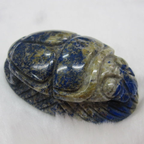 30cm 0.017g or customized natural gemstone large carving craft sodalite or customized lapis carved beetles animals