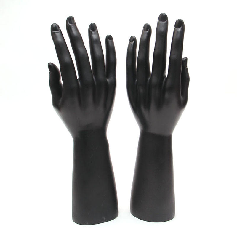 PVC Male Mannequin Hand For Gloves Display