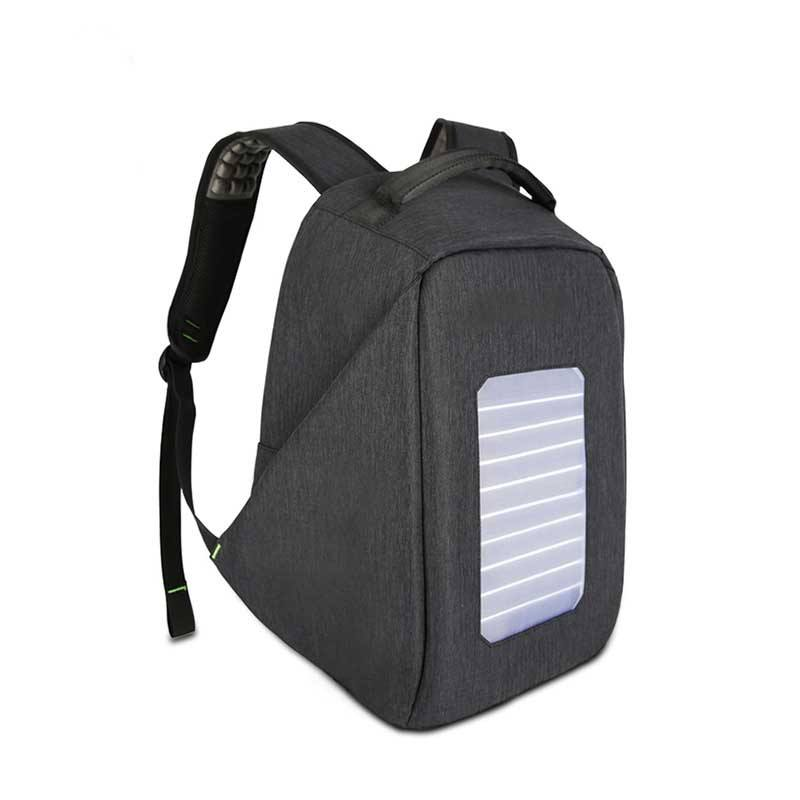 Ginzeal Solar Charging Backpack Male Anti-Theft Computer Backpack