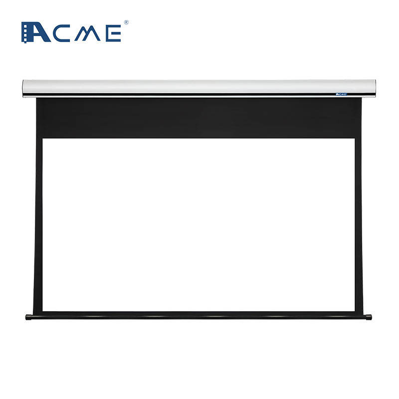 electric projector screen movie theater screen 120 inch motorized projection screen