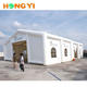 Large white luxury inflatable bubble barracks tent house use for 200 person wedding party