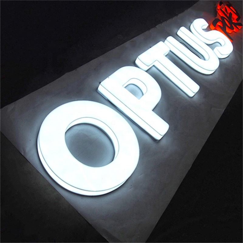 LED Light Letter Aluminum Led Letter Lights Electronic Led Sign Fullit Acrylic Letters Sign for store