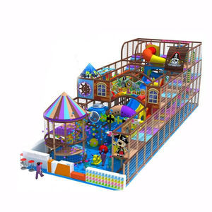 Kids Entertainment Park Equipment Pirate Theme Indoor Playground for Sales