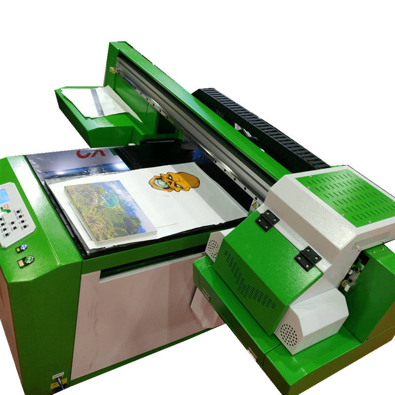 Small format 60x100 printer digital photo uv flatbed printing machine on acrylic,glass,wood,metal,stone