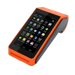 cheap android mobile phone 4g pos terminal , rfid pos terminals with printer , mobile pos