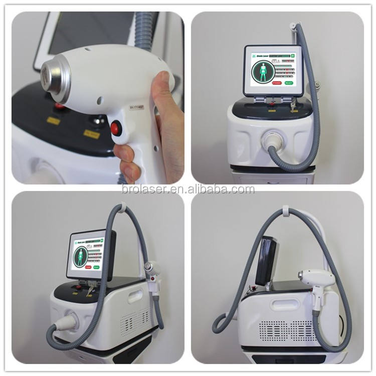 Skin Rejuvenation [ Laser ] Laser Hair Remove Diodo Laser 808 Germany Bars Permanent Hair Removal Laser Diodo 808