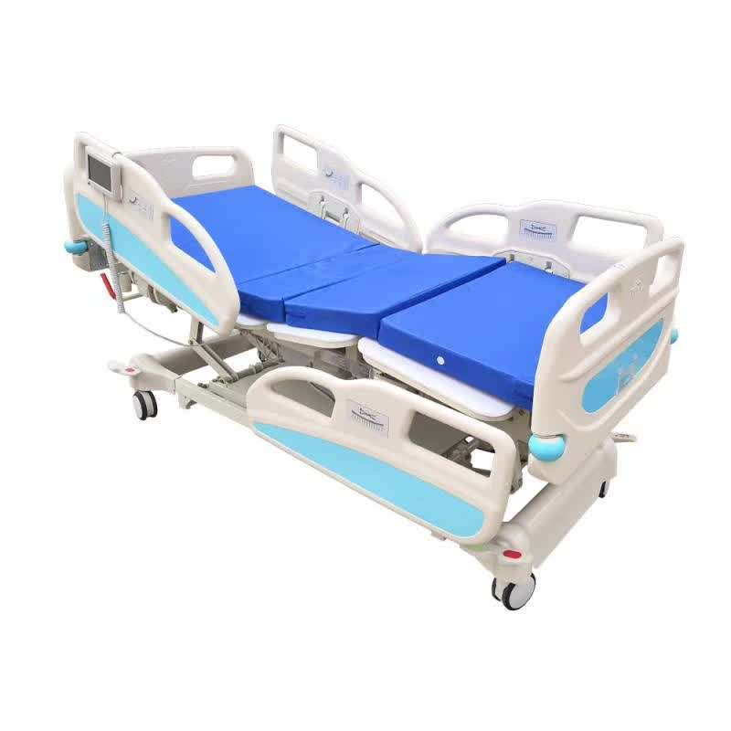 Factory Direct Sale Multi-function Electric Medical Hospital ICU Bed for sale