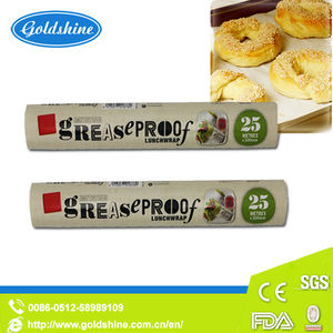 Greaseproof Cooking Baking Parchment Paper in Sheets and Rolls