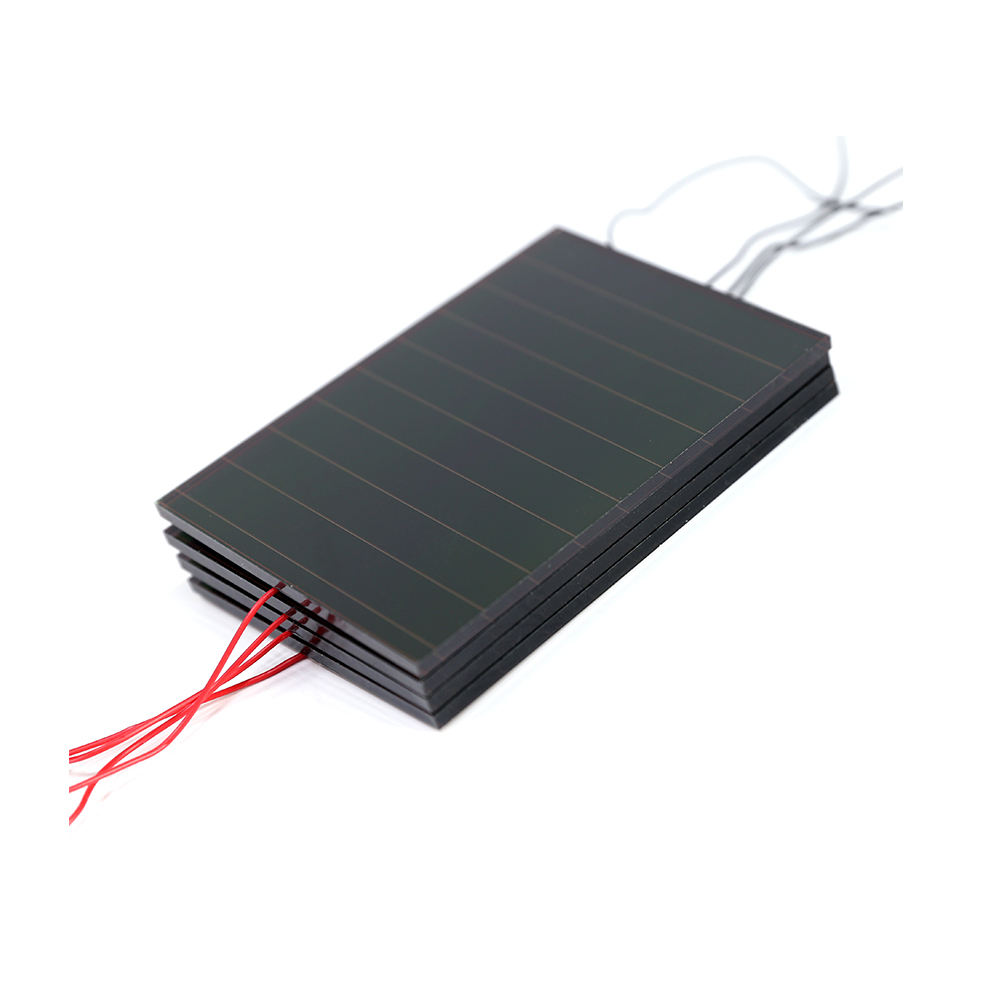 Indoor broken solar panel 5V amorphous silicon cells