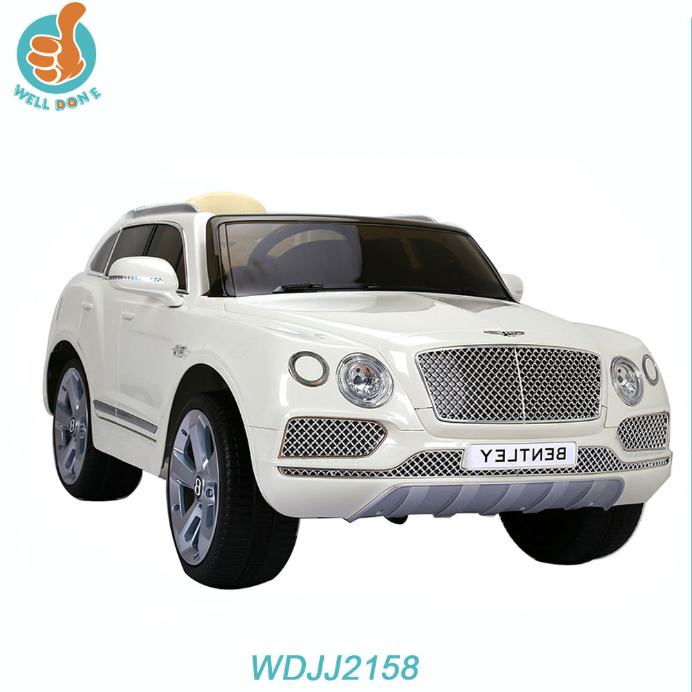 WDJJ2158 Kids Plastic Outdoor Two Motor Electric Children Cars Kids Ride On Remote Control Power Moke Gas Car
