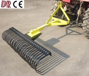 Tractor 3 Point Stick Raker Landscape Rake