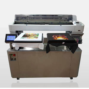 Multi-color T-shirt printing machine photo digital saree printing machine