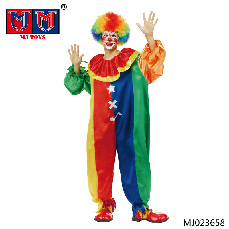 Costume <span class=keywords><strong>clown</strong></span> de noël et halloween pour adultes, vente en gros, nouvelle collection