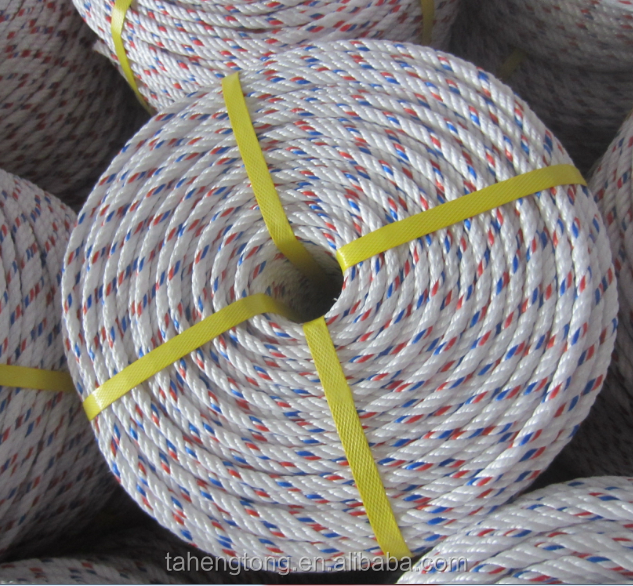 polypropylene twisted rope